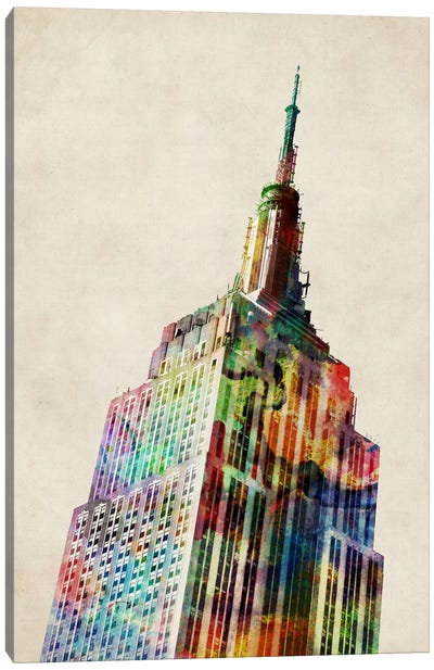 Empire State Building Canvas Print #8769