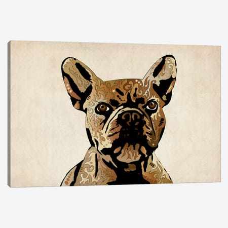 French Bulldog Canvas Print #8772} by Michael Tompsett Canvas Artwork