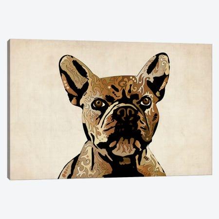 French Bulldog Canvas Print #8772} by Michael Tompsett Canvas Artwork