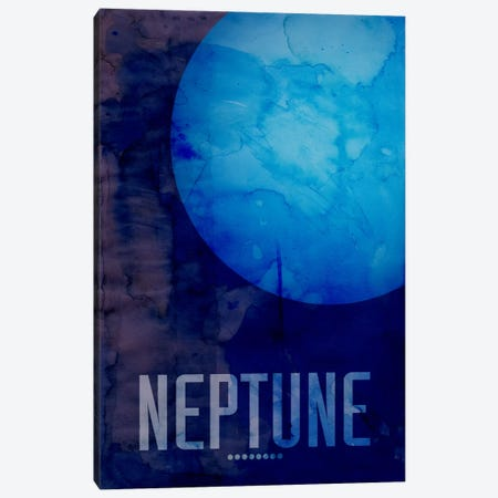The Planet Neptune Canvas Print #8798} by Michael Tompsett Canvas Art