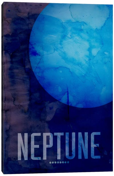 The Planet Neptune by Michael Tompsett Canvas Art
