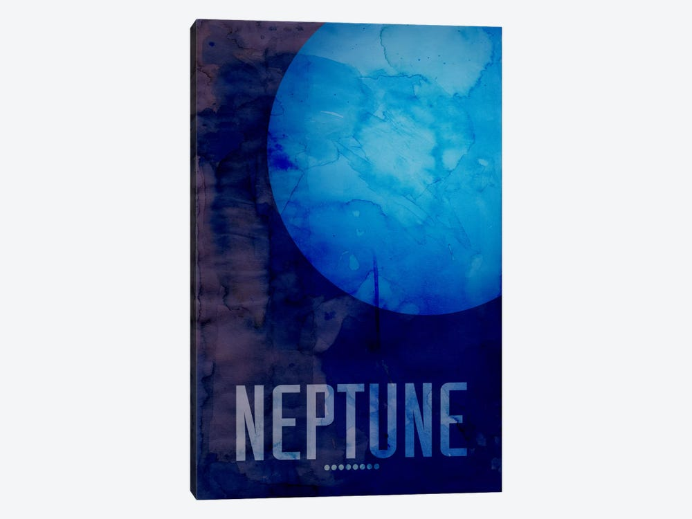 The Planet Neptune by Michael Tompsett 1-piece Canvas Print