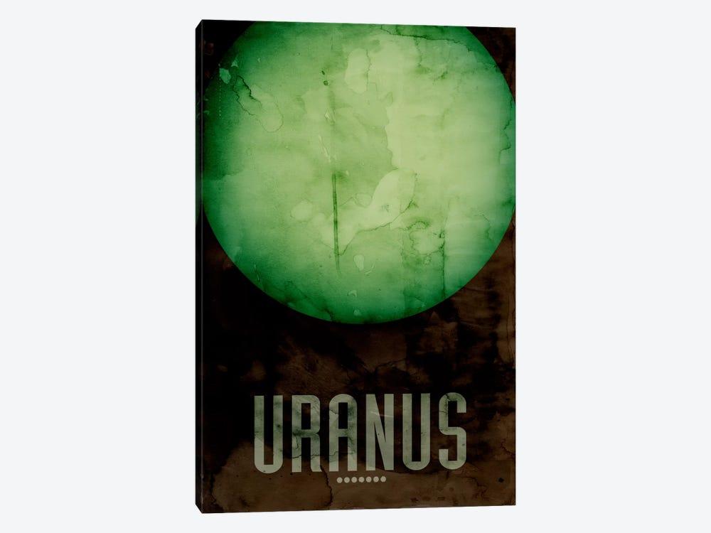 The Planet Uranus by Michael Tompsett 1-piece Canvas Wall Art
