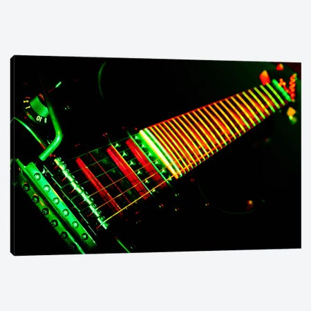 Funky Guitar Canvas Print #8814} by Unknown Artist Canvas Art