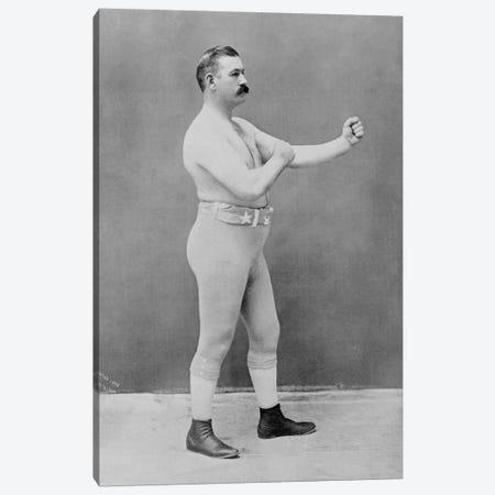 Boxing Champion John L. Sullivan Canvas Print #8815} by Unknown Artist Canvas Wall Art