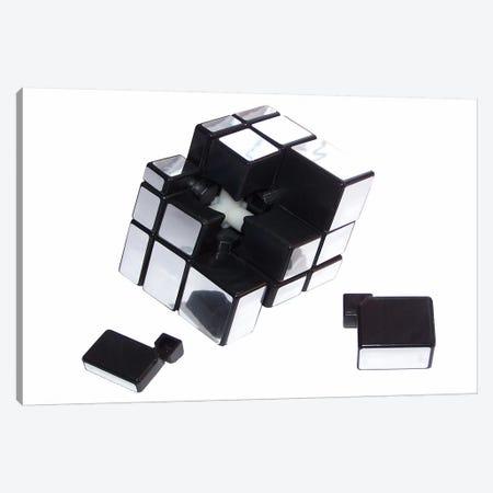 Mirror Cube Disassembled Canvas Print #8819} by Thomas Canvas Art Print