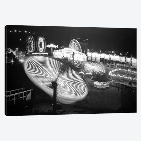 Nebraska State Fair Rides Canvas Print #8821} by Unknown Artist Canvas Art