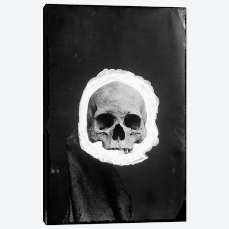 Skeleton Canvas Print #8825} by Unknown Artist Canvas Print