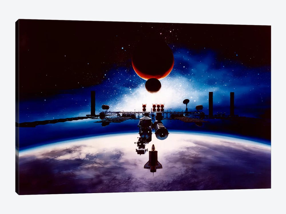 Destined for the Sun by Unknown Artist 1-piece Canvas Wall Art