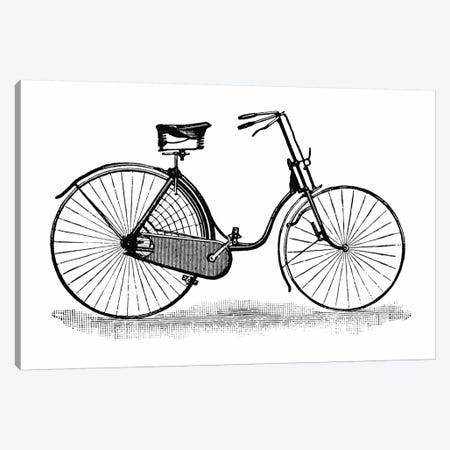 Ladies Safety Bicycle Vintage Poster Canvas Print #8835} by Unknown Artist Canvas Art