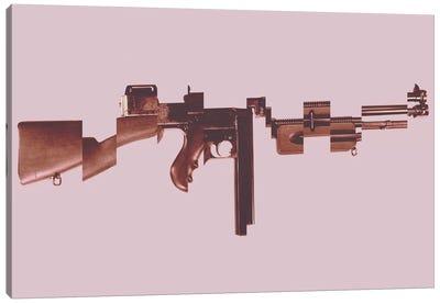 Gangster's Toy (Machine Gun) Canvas Art Print