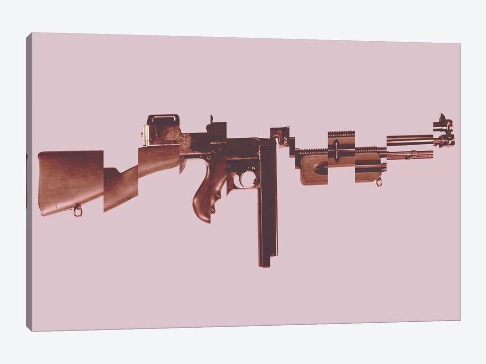 Gangster's Toy (Machine Gun) by Unknown Artist 1-piece Canvas Artwork