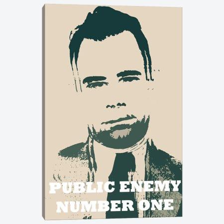 John Dillinger (1903-1934) - Blurry Look; Public Enemy Number 1 - Gangster Mugshot Canvas Print #8845} by Unknown Artist Art Print