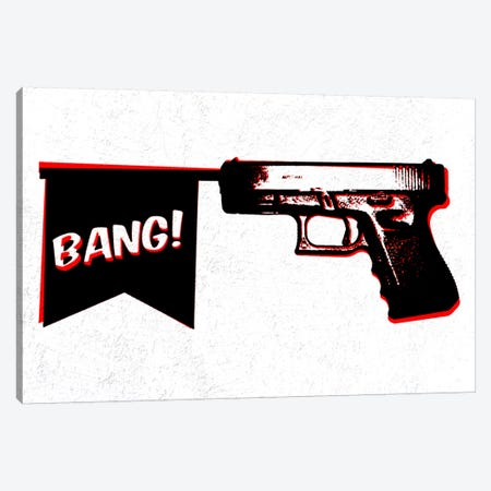 Bang Bang (Pistol) Canvas Print #8847} by iCanvas Canvas Print