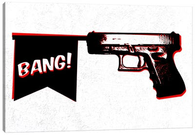 Bang Bang (Pistol) Canvas Art Print