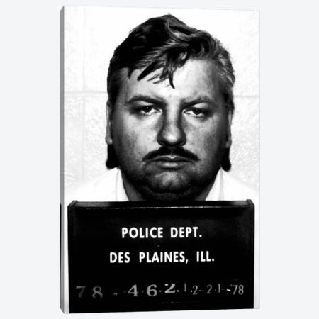 John Wayne Gacy - Serial Killer Canvas Print #8850} by Unknown Artist Art Print