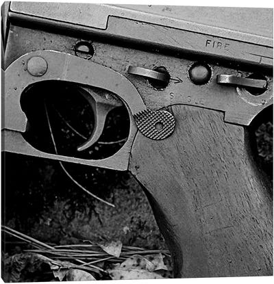 Weapon of Destruction (Gun) Canvas Art Print