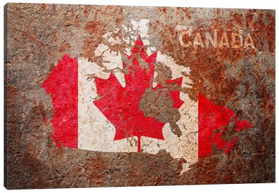 Canada Flag Map...