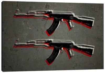 AK47 Assault Rifle Canvas Print #8871