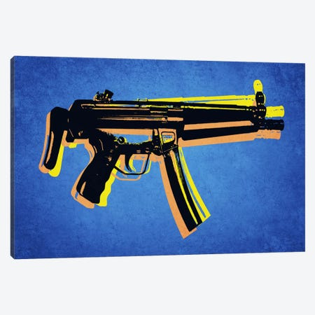 MP5 Sub Machine Gun Canvas Print #8872} by Michael Tompsett Canvas Art Print