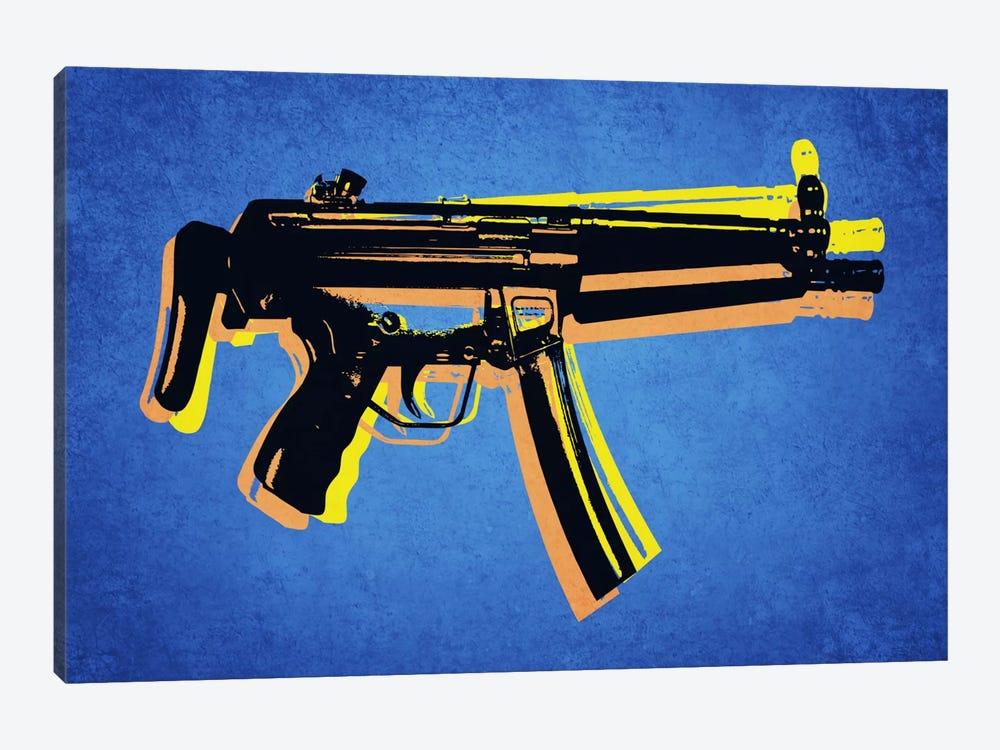 MP5 Sub Machine Gun by Michael Tompsett 1-piece Canvas Print
