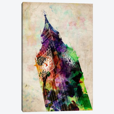 London Big Ben Canvas Print #8882} by Michael Tompsett Canvas Artwork