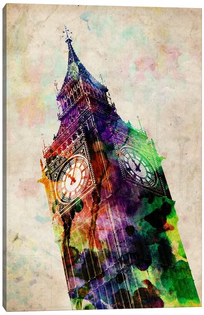 London Big Ben Canvas Print #8882