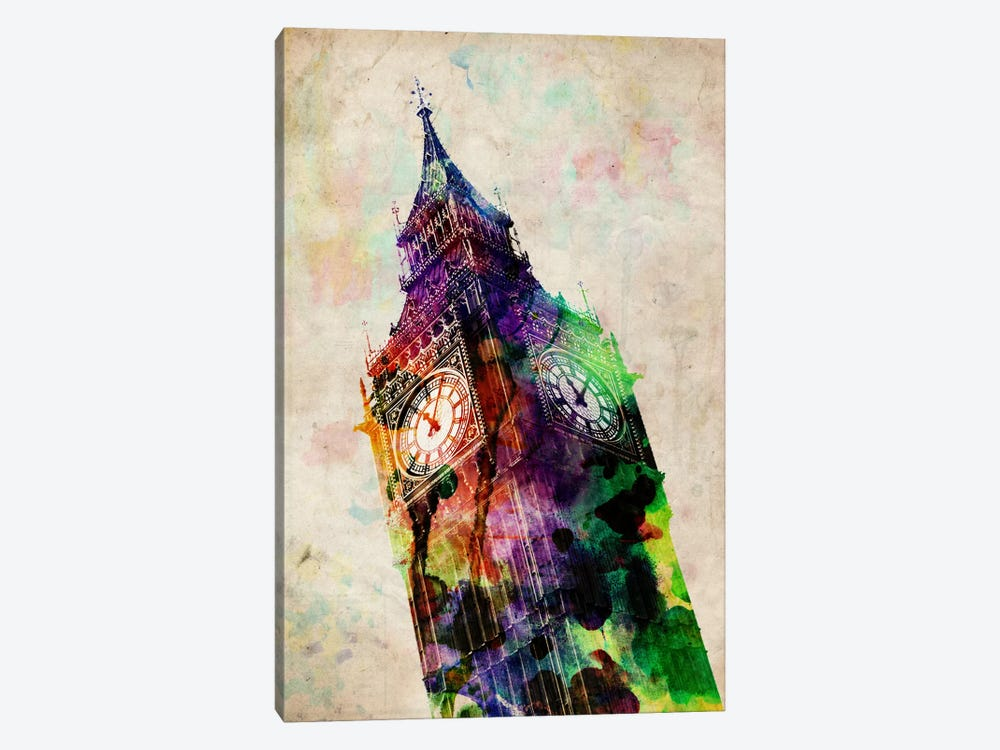 London Big Ben by Michael Tompsett 1-piece Canvas Art