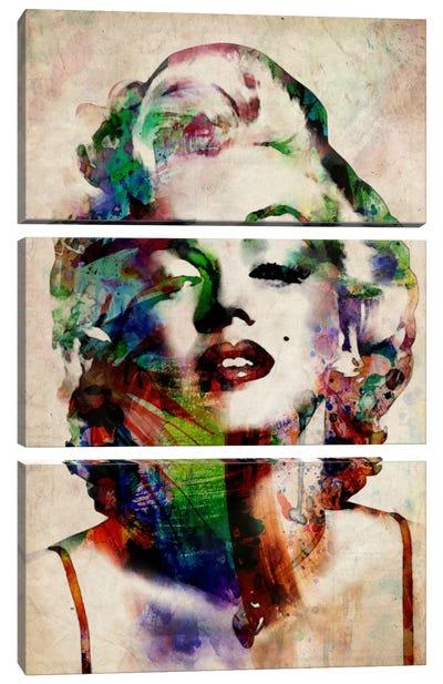 Watercolor Marilyn Monroe Canvas Art Print