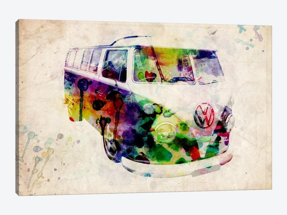 VW Camper Van (Urban) by Michael Tompsett 1-piece Canvas Print