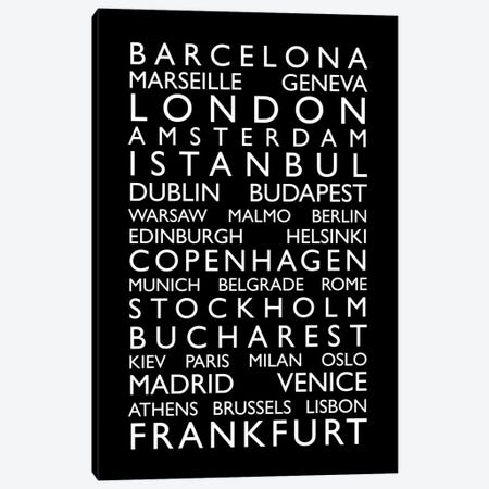World Cities Bus Roll II Canvas Print #8985} by Michael Tompsett Canvas Art