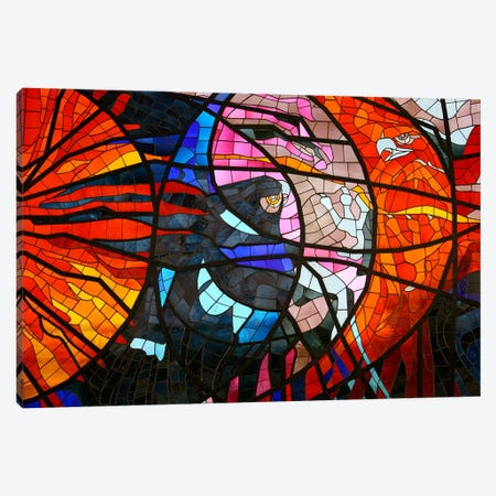 Stained Glass Window Canvas Print #8} by Unknown Artist Canvas Art