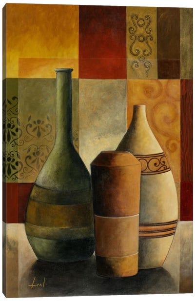 Three Vases Canvas Art Print