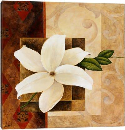 White Flower Canvas Print #9073