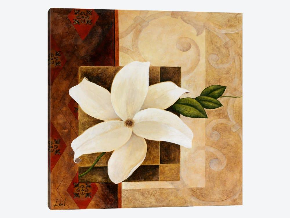 White Flower by Pablo Esteban 1-piece Canvas Art Print