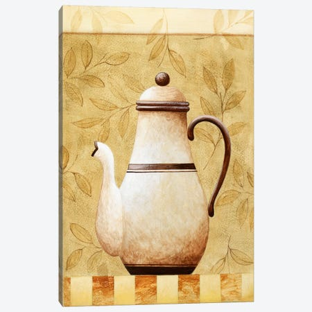 White Teapod Canvas Print #9074} by Pablo Esteban Canvas Art Print
