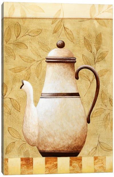 White Teapod Canvas Print #9074