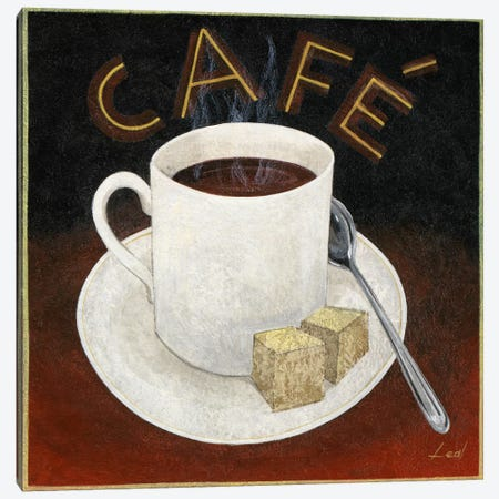Cup of Coffee Canvas Print #9076} by Pablo Esteban Art Print