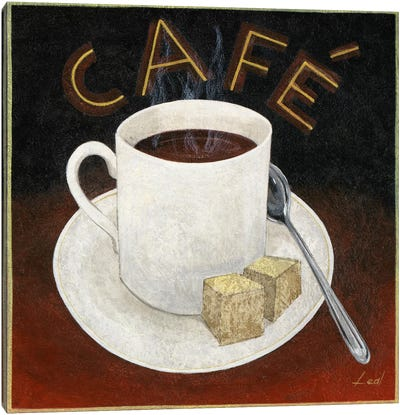Cup of Coffee Canvas Print #9076
