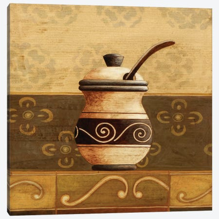 Coffee Pot Canvas Print #9077} by Pablo Esteban Art Print