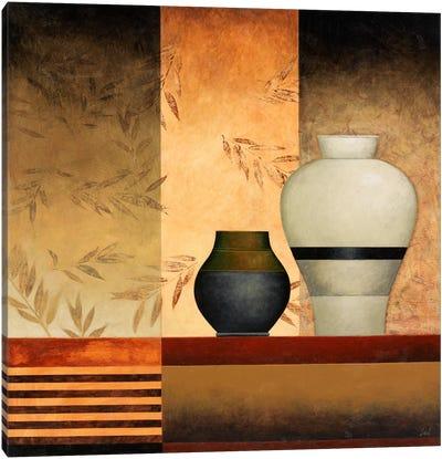 A Big & a Small Vases Canvas Art Print