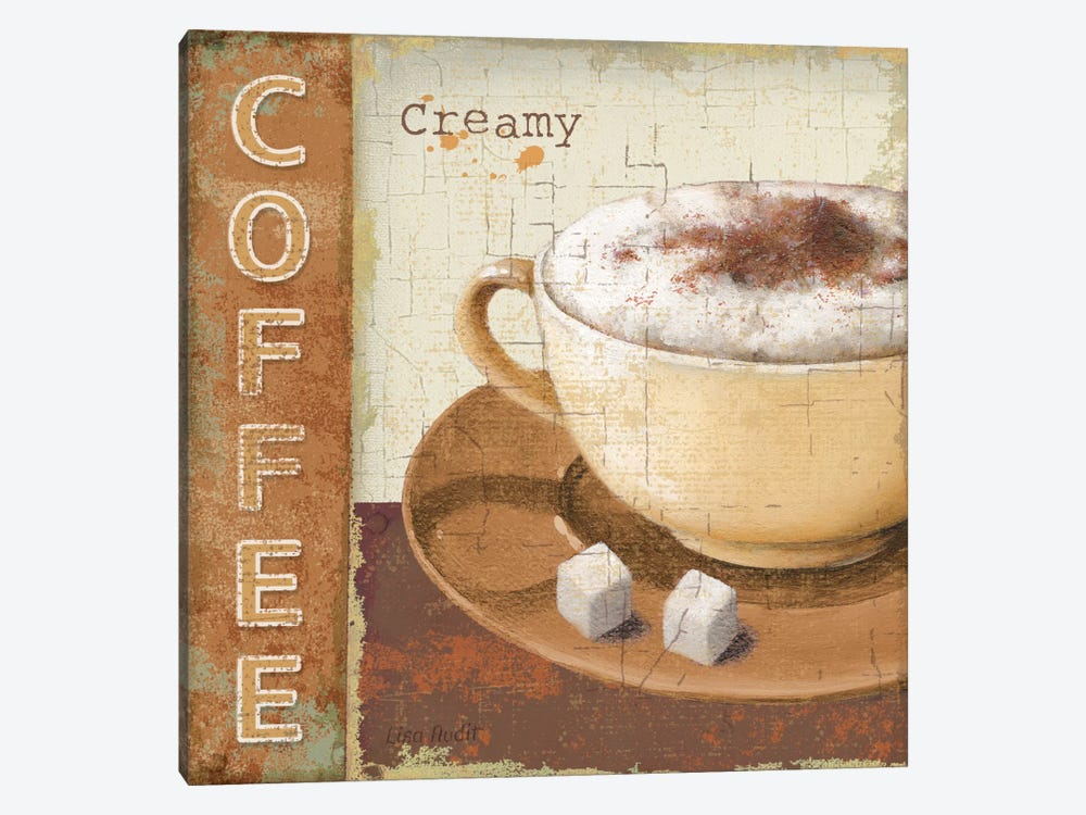 Coffee Lovers by Lisa Audit 1-piece Canvas Art Print