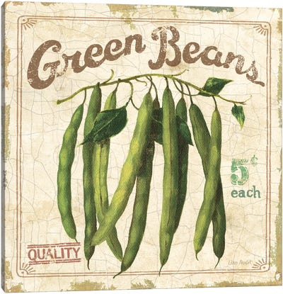 Green Beans (On Special II) Canvas Art Print