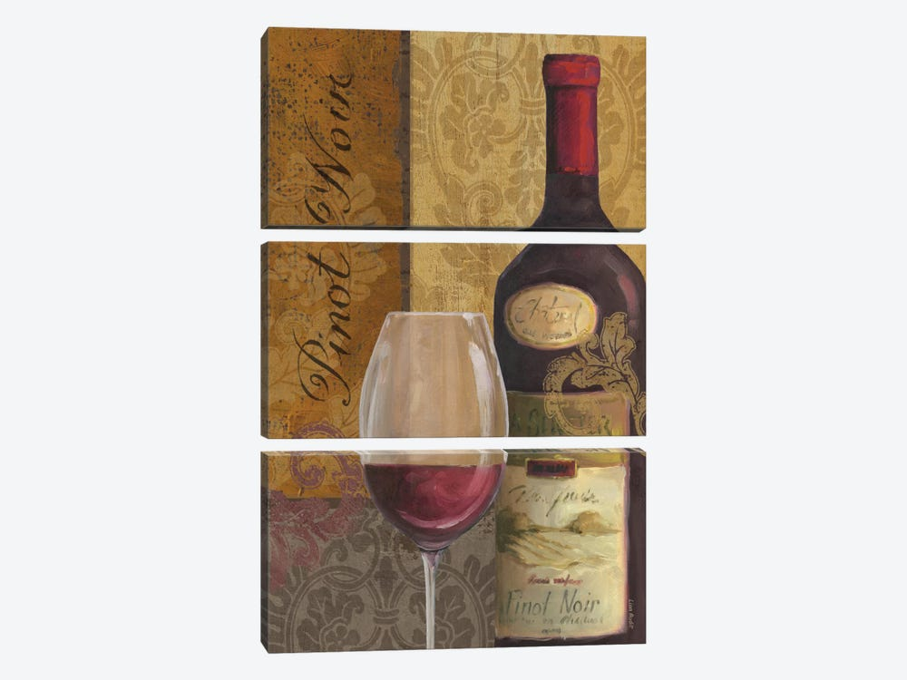 From The Cellar IV by Lisa Audit 3-piece Canvas Print