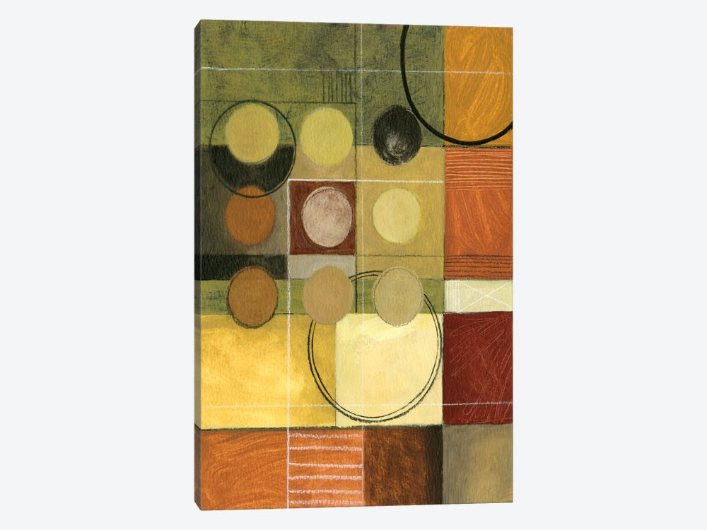 Color Collage II by Pablo Esteban 1-piece Canvas Art