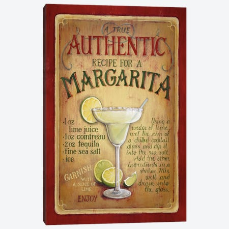 Authentic Margarita Canvas Print #9120} by Lisa Audit Canvas Art
