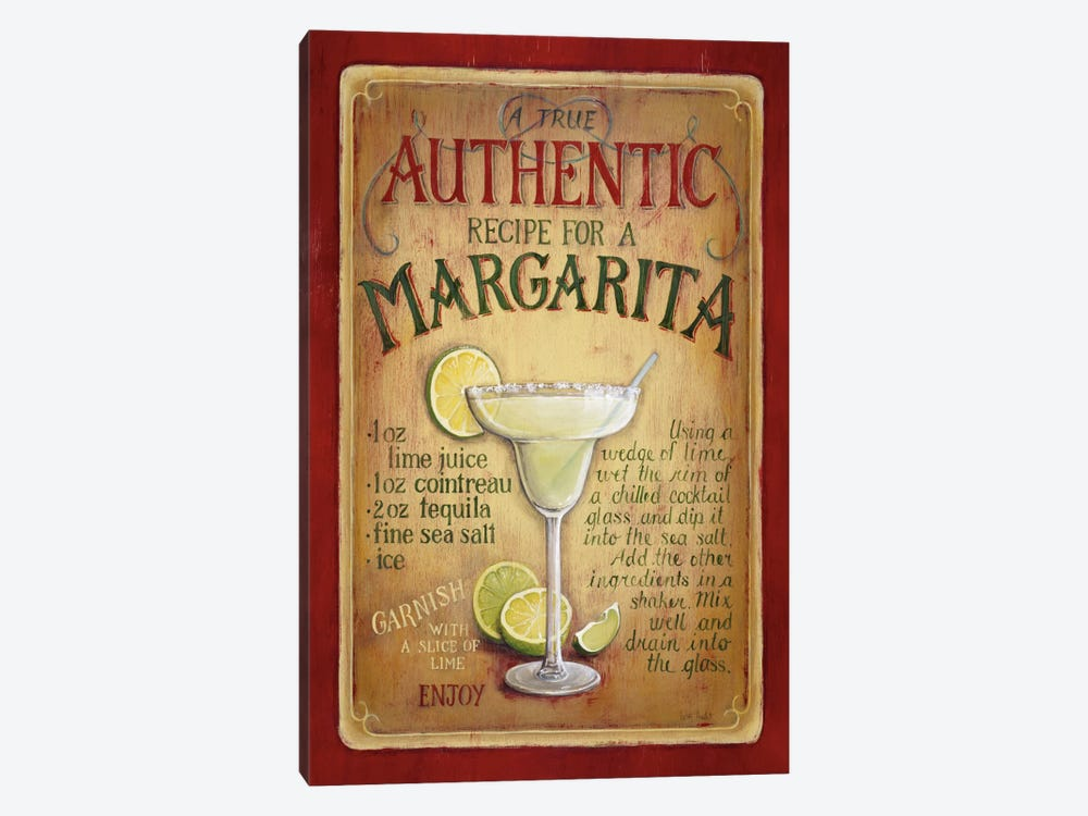 Authentic Margarita by Lisa Audit 1-piece Canvas Wall Art
