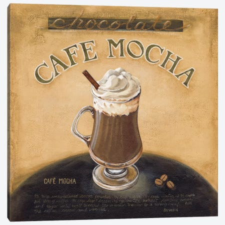 Cafe Mocha Canvas Print #9125} by Lisa Audit Art Print