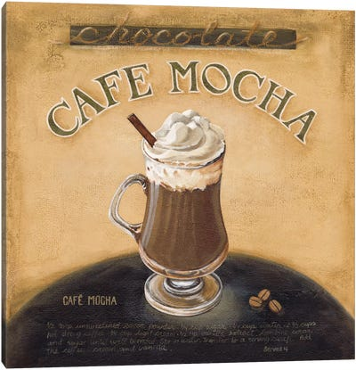 Cafe Mocha Canvas Art Print