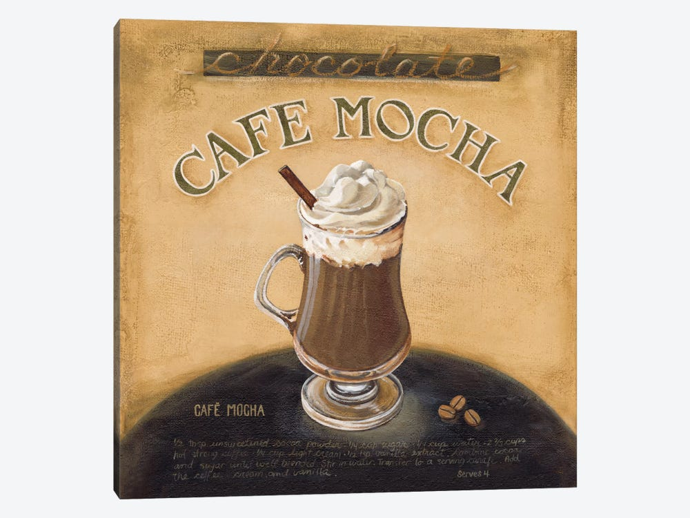Cafe Mocha by Lisa Audit 1-piece Art Print